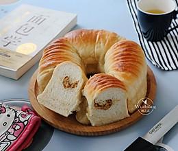 #助力高考营养餐# 全麦肉松毛线面包的做法