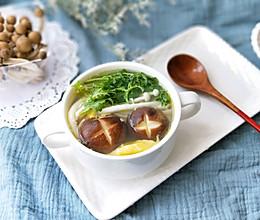 杂菌鸡蛋汤(提高免疫力的减脂好汤)的做法