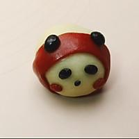 熊猫麻薯蛋黄酥,Q弹软糯,好吃到飞起~的做法图解16