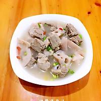 排骨莲藕养生汤的做法图解5