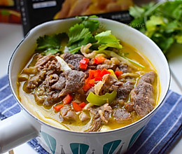 在家也能做超好吃的金汤肥牛的做法