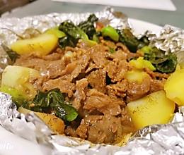 锡纸牛肉煲的做法