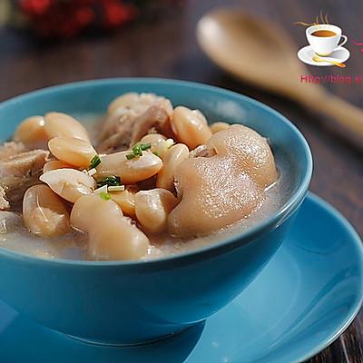 蹄花芸豆汤