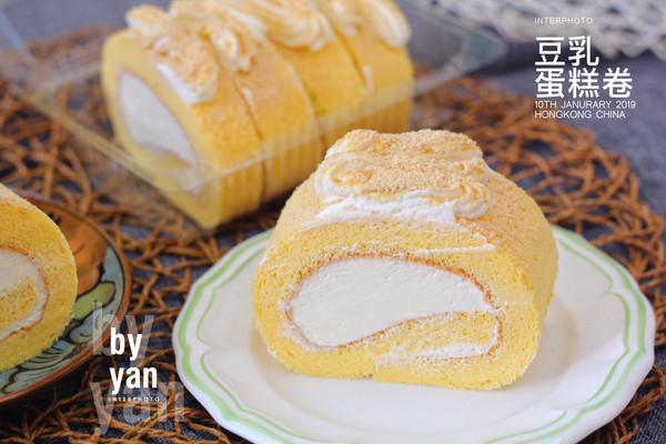 豆乳蛋糕卷