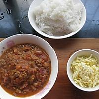 番茄肉酱焗饭#百吉福芝士力量#的做法图解11