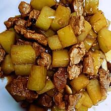 甜丝丝的土豆炖肉