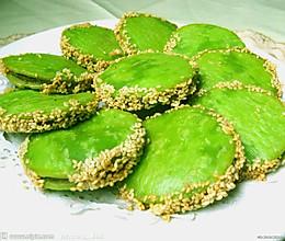 绿茶饼的做法