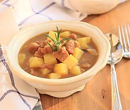 咖喱牛肉炖土豆—冬季暖身的做法