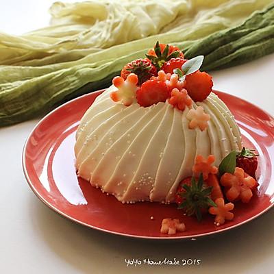 拼搭之味--草莓芝士小蛋糕