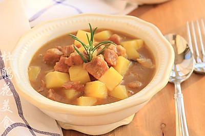 咖喱牛肉炖土豆—冬季暖身