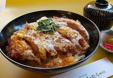 【一人食】日式猪排饭 简单快速