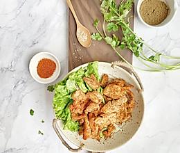 #520,美食撩动TA的心!#孜然鸡胸肉的做法