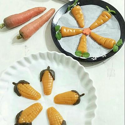 广东年夜饭必备--香甜玉米糕
