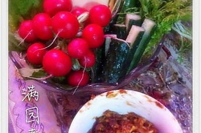 蘸酱菜--东北人就爱这个味儿!