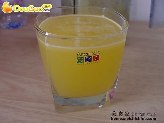 菠萝汁的做法