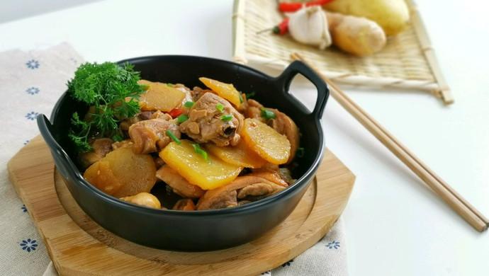 可以吃掉一锅米饭的土豆鸡