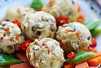 时蔬烩麦香豆腐丸子的做法