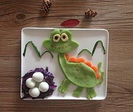 宝宝创意童趣早餐之恐龙的做法