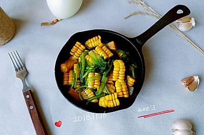 葱葱油盐焗薯黍