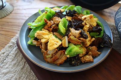 特色鲁菜-木须肉