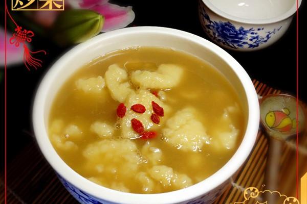 家常甜汤——面疙瘩的做法