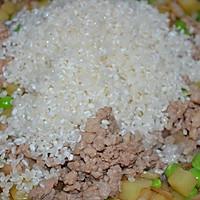 肉末洋葱双豆焖饭的做法图解12