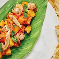 泰式鲜虾芒果沙拉