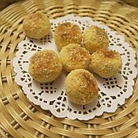 黄金椰丝小圆饼