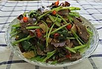 小芹菜炒五香牛肉干#我要上首页清爽家常菜#的做法