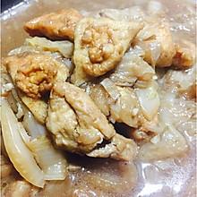 白菜炖豆泡