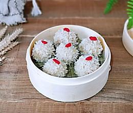糯米珍珠丸子#硬核家常菜#的做法
