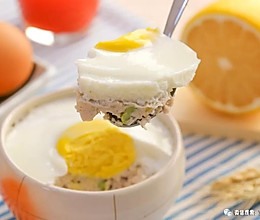 什锦豆腐蒸蛋 宝宝辅食食谱的做法