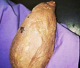 ‼️现吃现烤超省时|微波炉烤红薯#中秋团圆食味#的做法