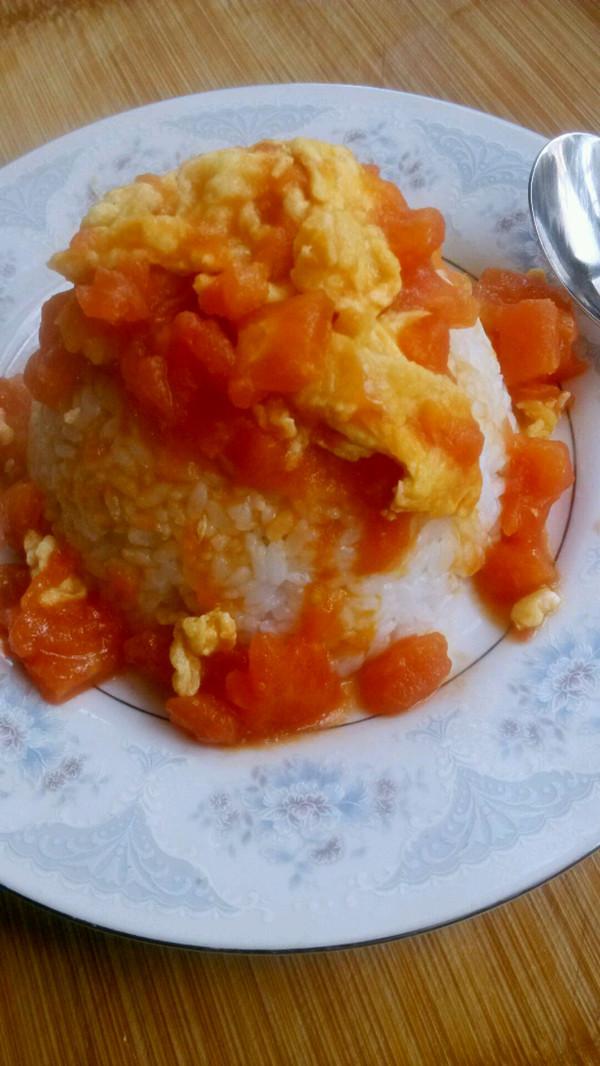 大喜大牛肉粉试用之✘西红柿炒蛋盖饭的做法