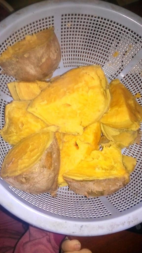 高压红薯的做法