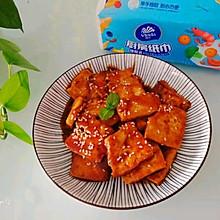 #厨房有维达洁净超省心#糖醋脆皮豆腐