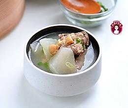 腔骨干贝萝卜汤的做法