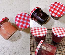 自制樱桃酱,蓝莓酱,桃酱的做法