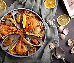 西班牙海鲜烩饭的做法