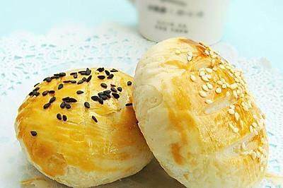 芝麻豆沙酥饼