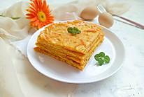 南瓜鸡蛋饼#花10分钟,做一道菜!#的做法