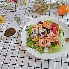 鲜虾仁沙拉