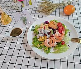 鲜虾仁沙拉的做法