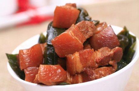 海带烧肉的做法