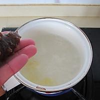 海参小米粥的做法图解5
