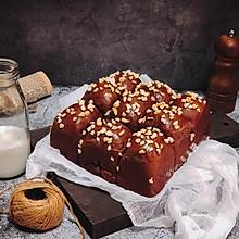 花生可可面包