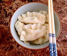 韭菜鸡蛋粉条虾皮大馅饺子的做法