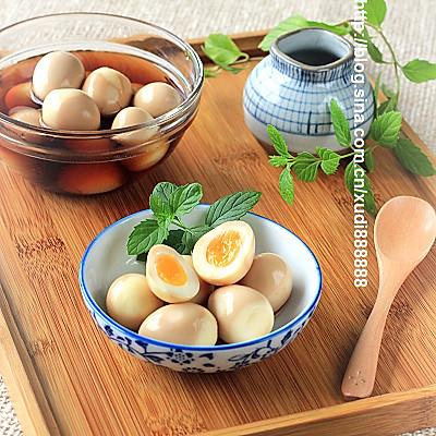 日式溏心卤鹌鹑蛋