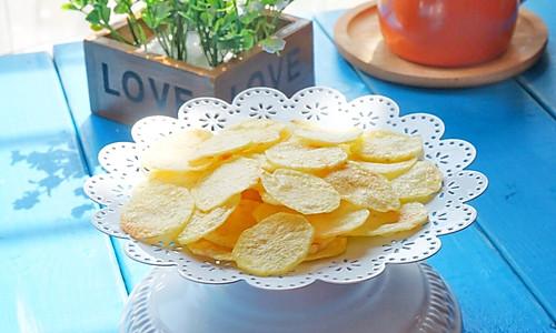 原味薯片#美的微波炉菜谱#的做法