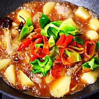 #就是红烧吃不腻!#土鸡土豆粉条一锅炖的做法图解15